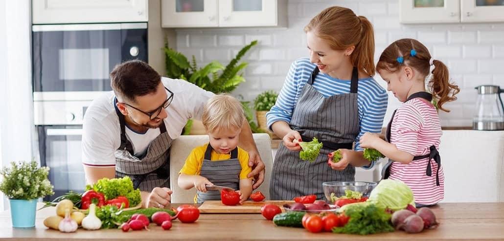 Ausgewogene Ernährung für die ganze Familie