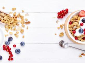 Essen zum Frühstück - z.B. Müsli