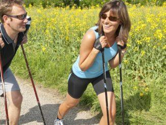 Nordic Walking hat Vorteile für die Psyche