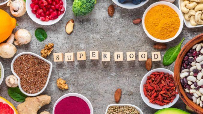 Verschiedene Superfoods